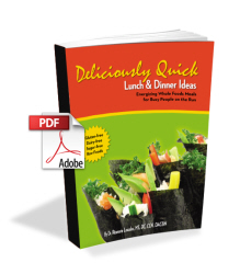 Deliciously Quick Lunch & Dinner Ideas - Fast Raw Food Recipes
