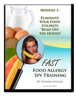 FAST (Food Allergy Spy Training): Module 1: Eliminate Your Food Culprits